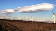 レンズ雲英国ウエストヨークシャー